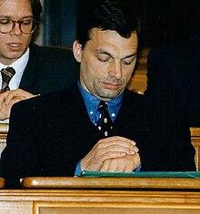 Orbán in 1997