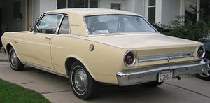 1966 Ford Falcon 2-door sports coupe. Not a fa...
