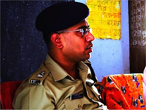 A Senior Superintendent of Police (SP/SSP) bel...