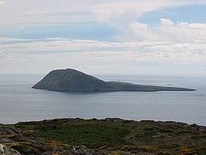 Bardsey Island Taken from Braich y Pwll - at t...