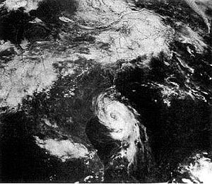 English: This image shows Hurricane Charley of...