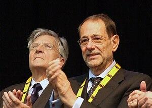Jean-Claude Trichet and Javier Solana, Karlspr...