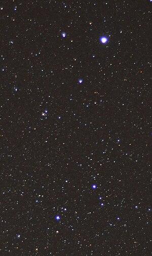 The principal stars of the constellation Lyra,...