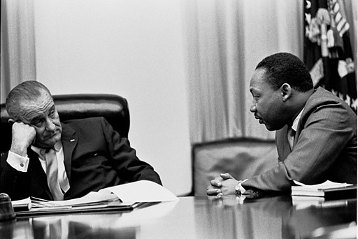 Martin Luther King, Jr. and Lyndon Johnson 2
