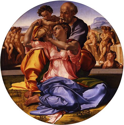 Michelangelo Buonarroti - Tondo Doni - Google Art Project