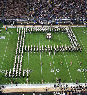 English: Purdue All-American Marching Band &qu...