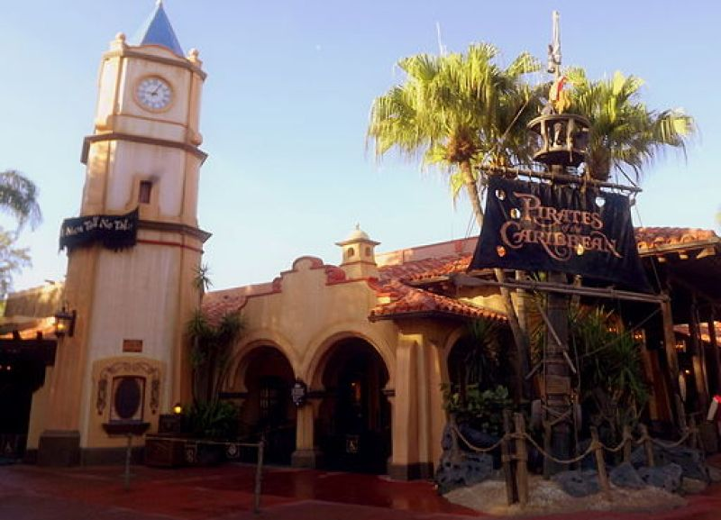 Pirates of the Caribbean at Walt Disney World January 2012