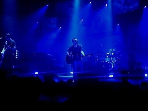 Radiohead Blackpool Thom Yorke guitar