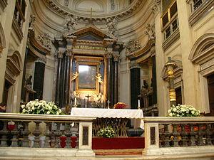 Main Altar, Santa Maria in Montesanto, Rome