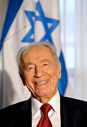 Shimon Peres, President of the State of Israel.