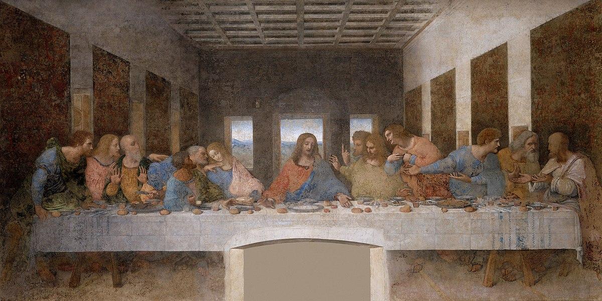 La última cena (Leonardo da Vinci) - Wikipedia, la enciclopedia libre