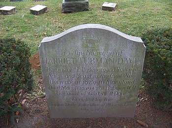 English: Harriet Tubman grave