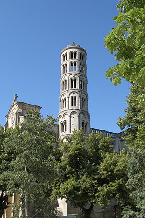 The Fenestrelle Tower at Uzès (Département du ...