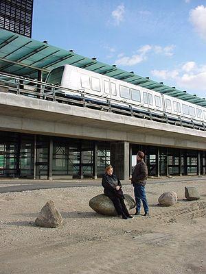 Ørestad Metro-stationHans Jørn Storgaard Andersen
