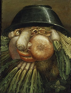 Portrait with Vegetables (The Greengrocer).