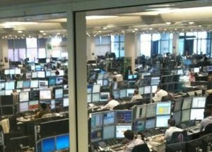 English: BNP_Paribas_London_Trading_Floor
