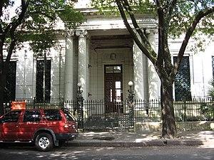 Devoto Public Library, Buenos Aires. Argentine...