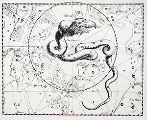 The Draco (constellation) constellation from U...