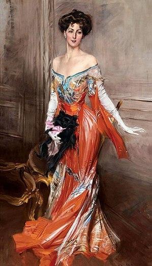"Portrait of Elisabeth""Bessie: Wharton Drexel,  (April 22, 1868 – June 13, 1944) American author and Manhattan socialite, 1905. Giovanni Boldini [Public domain], via Wikimedia Commons"