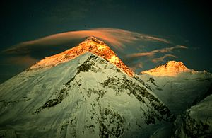 English: Everest - photo by Ryszard Pawłowski ...