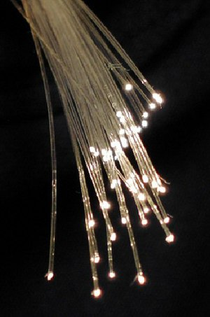Fibre optic strands