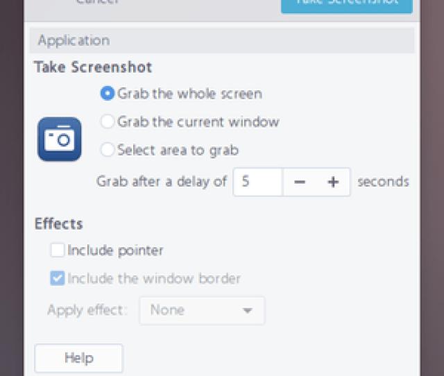Gnome Screenshot Png