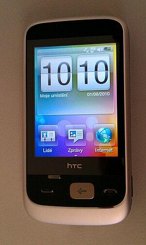 Česky: HTC Smart