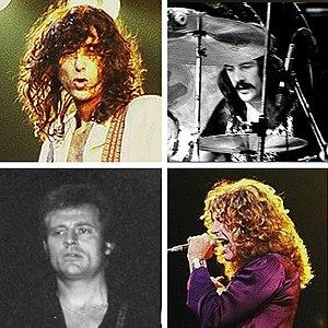 English: Jimmy Page; Robert Plant; John Bonham...