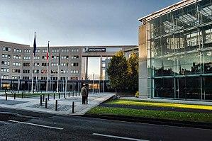 Français : Le siège de l'entreprise Michelin (...