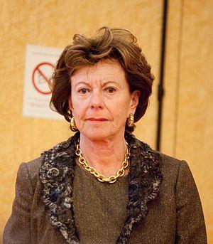 Français : Neelie Kroes lors du colloque ARCEP...
