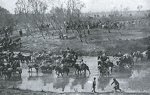 Retreat of the Russian Army after the Battle o...