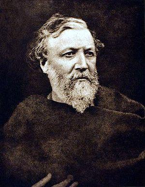 Photogravure of Robert Browning, 1865, printed...