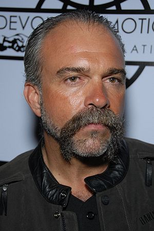 Sam Childers arriving to the Book Signing Even...