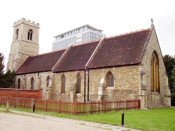 St John's church on St Johns Street, Bedford
