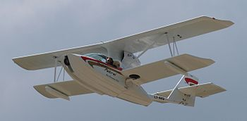 English: Super Petrel amphibious ultralight airplane