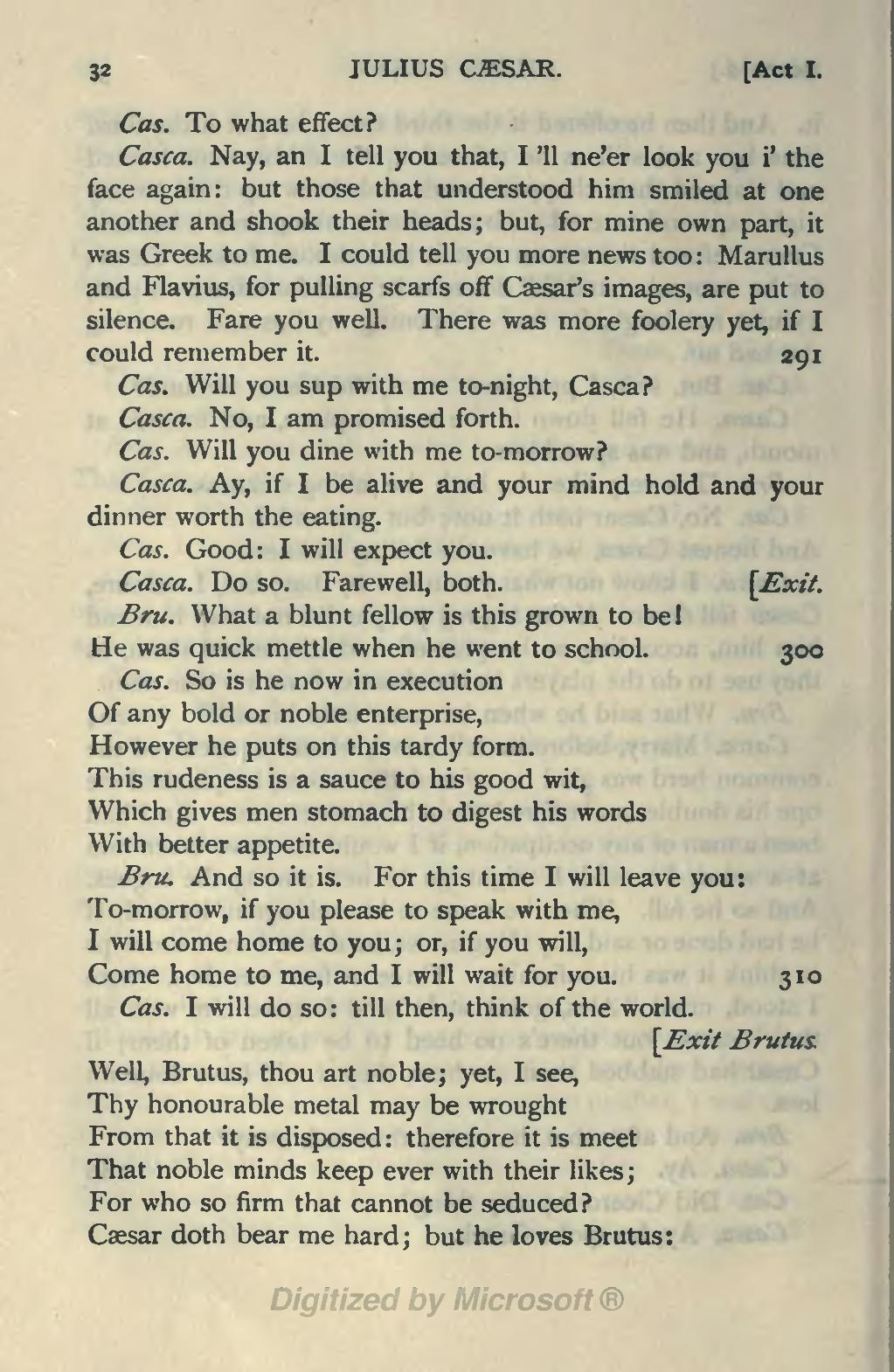 Page The Tragedy Of Julius Caesar The Warwick Shakespeare