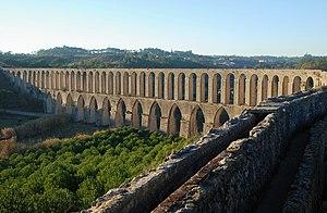 Aqueduct of Pegões, Tomar, Portugal