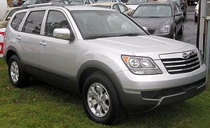 2009 Kia Borrego photographed in Waldorf, Mary...