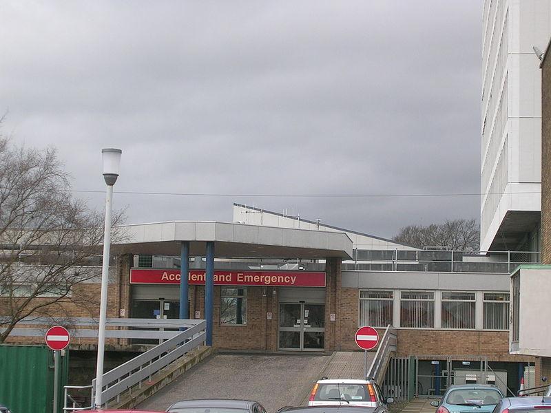 File:A&E department, Victoria Hospital.JPG