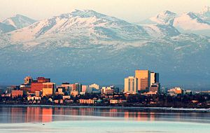 Taken at the end of April 2008 in Anchorage, A...