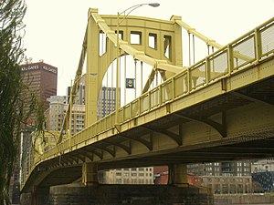 Seventh Street Bridge (aka Andy Warhol Bridge)...