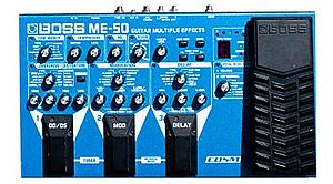 Boss ME-50 guitar multi-effects pedal