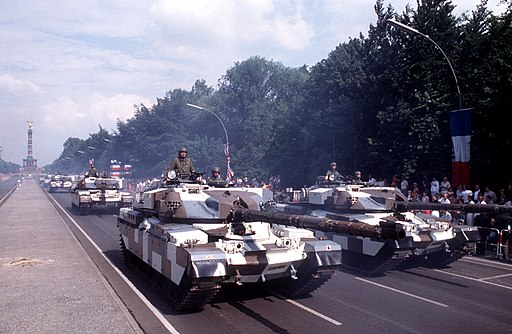 British Chieftain tanks