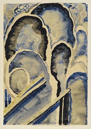 Brooklyn Museum - Blue 1 - Georgia O'Keeffe