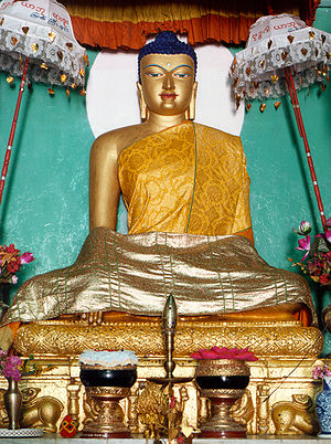 Main image of Śākyamuni Buddha within the Maha...