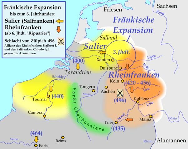 Franken im 4. Jhd.