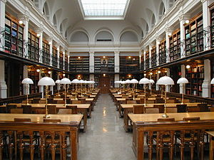 English: The main reading romm of Graz Univers...