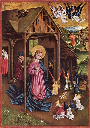 German painting, 1457