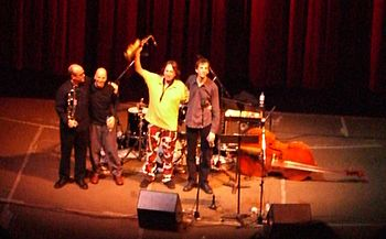 John Zorn with band Masada