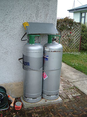 Cylinders of Liquified petroleum gas